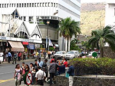 Port Louis, hlavní město Mauritiu