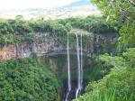 Mauritius s vodopádem Chamarel